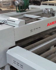 AMERICAN HEATED OVEN PRESS EXIT