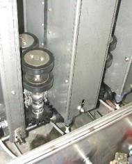 AMERICAN VGW INSIDE ENTRANCE VIEW OF PINCH ROLLS