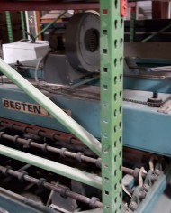 Besten 60in Oven Roller Press Entrance