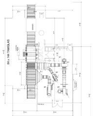 TAMGLASS Tempering Furnace Footprint