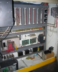 96 Tanglass Furnace Control Panel Inside